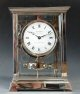 A fine Atmos clock, nickel case, by Jean-Léon Reutter, No 3615, France ca. 1930. (new object)